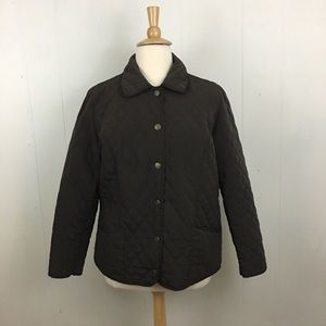 Lane Bryant Quilted Button Down Jacket 18/20